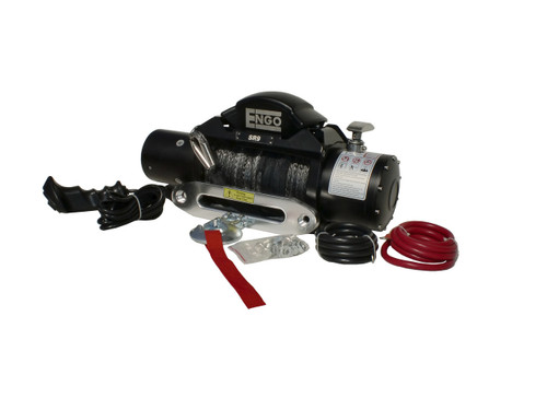 Engo Winch Model SR9S (9,000 lbs w/ Synthetic Rope)