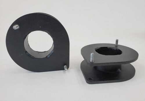 "Metal Tech FZJ80 2"" Front spacer plates, Pair w/ hardware"