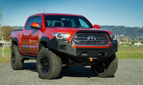 Metal Tech 2016+ Tacoma Blackbird Front Bumper Stage 1