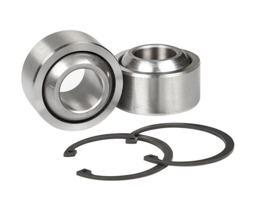 """Total Chaos 1"""" Stainless Steel FK Uniball and Snap Ring Replacement Kit"""