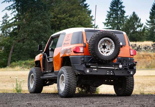Metal Tech FJ Cruiser Red Eye II Full Shell Rear Swing Out Bumper Stage 2