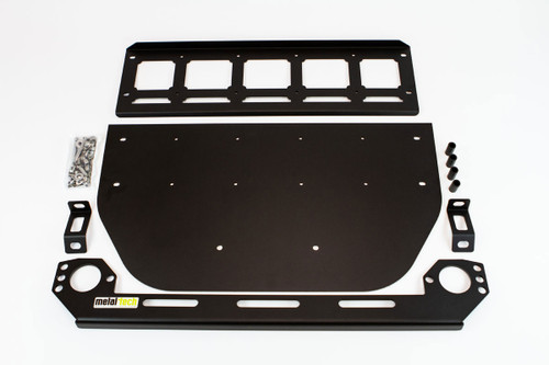 Metal Tech FJ Cruiser Bash Plate System (for use with Metaltech Front Tube Bumper)