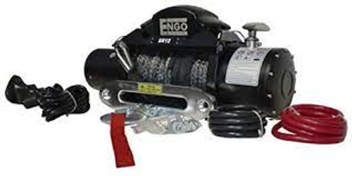 Engo Winch Model SR12S (12,000 lbs w/ Synthetic Rope)