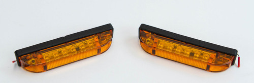 OPOR Pair of LED Step Lights for the GX470/GX460 Rear Bumpers (Amber)
