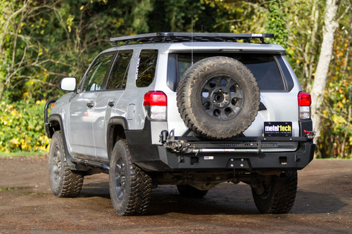 Metal Tech 2010-18 4Runner Valkyrie Rear Swing Out Bumper Stage 1