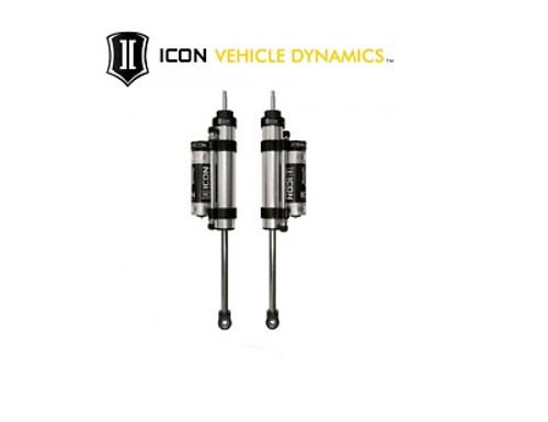 """ICON 2007-UP Toyota Tundra V.S. 2.5 Series PBR Rear Shocks w/CDCV (0-1.5"""" Lift)"""