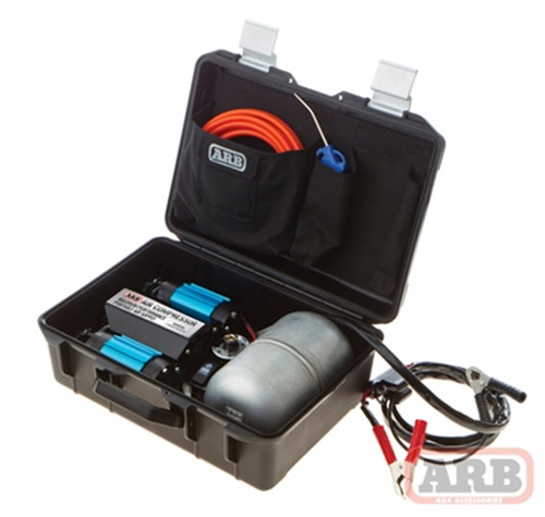 ARB On-Board High Performance 12 Volt Twin Air Compressor Portable Kit