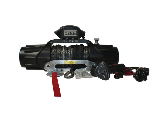 Engo Winch Model XR10S (10,000lbs w/ Synthetic Rope)