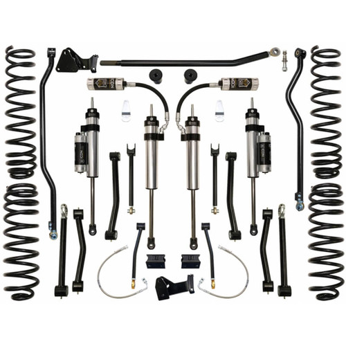 """ICON 2007-UP Jeep JK 4.5"""" Suspension System - Stage 4"""