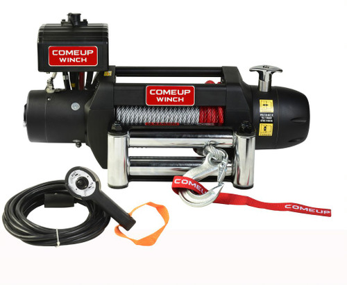 ComeUp Seal Gen2 9.5, 12V Wire Rope Winch