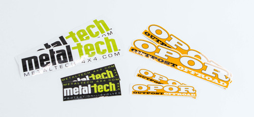 Metal Tech Sticker Pack