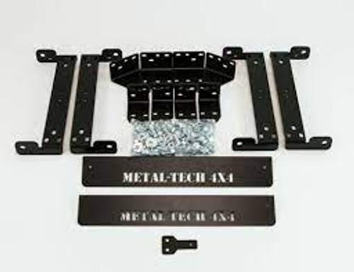 Metal Tech FJ Cruiser Seat Bracket System For Scheel-Mann Seats