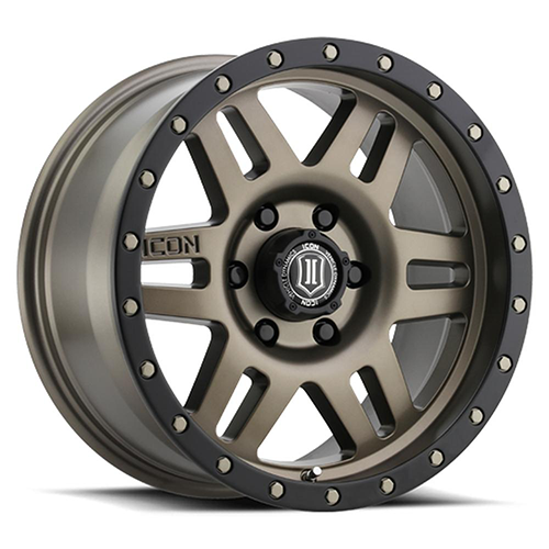 "ICON Six Speed 17"" Wheel Bronze Finish"