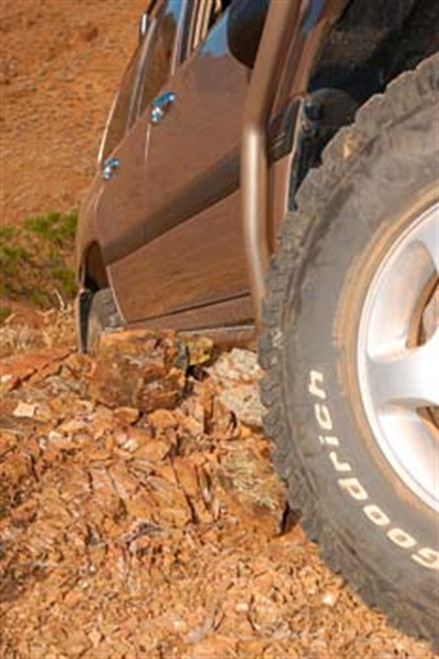 ARB 100 Series Land Cruiser Side Rail for years 1998 to 2002