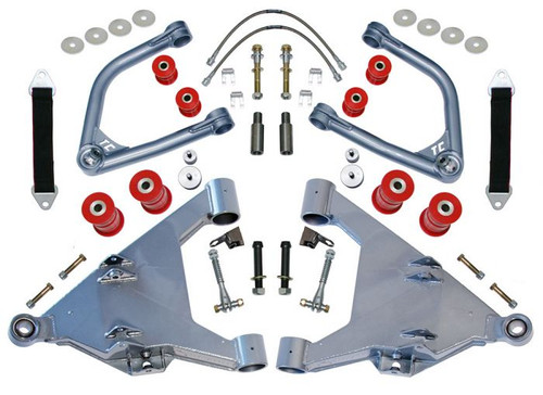 """Total Chaos 2.5"""" Long Travel Kit - Boxed Lowers w/ Sway Bar Mounts:  2007-2018 Tundra   (KING / FOX / ICON)"""