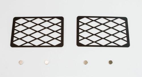 Metal Tech Winch Hole Covers Phantom Bumper