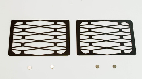 Metal Tech Winch Hole Covers Fortress Bumper