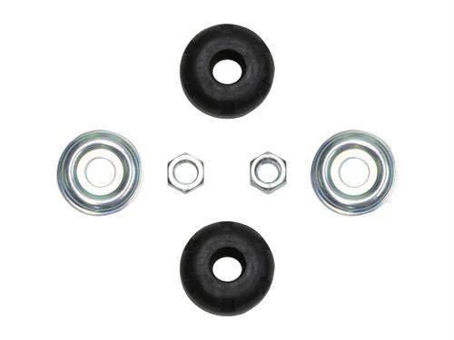 ICON Replacement Shock Stem Bushing Kit w/ Heavy Duty Bushings for Toyota Shocks and Metaltech4x4 Long Travel shocks
