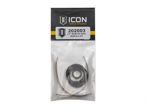 "ICON 2.0"" Aluminum Series Remote Reservoir Shock Basic Rebuild Kit"