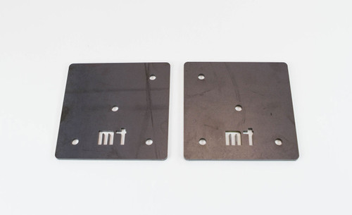 Metal Tech FJ40 Land Cruiser Roll Cage Front Mounting Plates - Pair