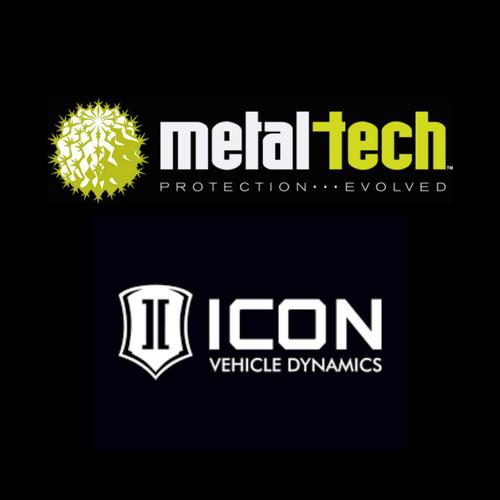 ICON Spacer Kit for  Rear 2.5 Shocks on 120/150 platforms