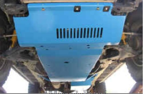 BudBuilt 2003-2009 4th Gen 4Runner 4 Piece Combo Skid Plates (V6 Engine)