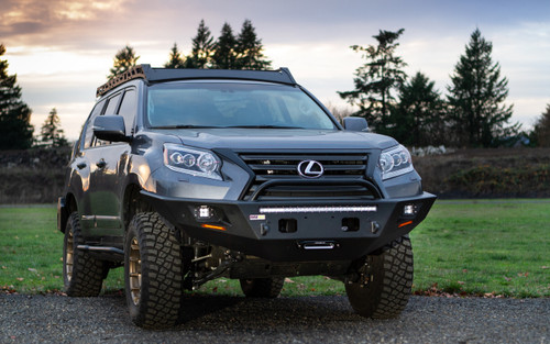 Metal Tech 2014 - 2021 Lexus GX460 Tiger Shark Front Bumper - Stage 3