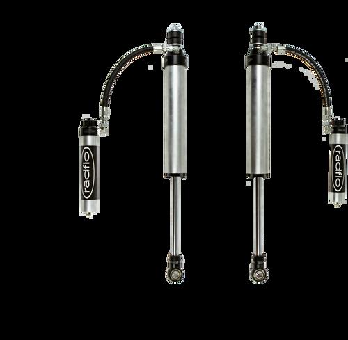 """Radflo 2003+  Lexus GX470/GX460 2.5"""" Remote Reservoir Rear Shock w/ Compression Adjuster"""