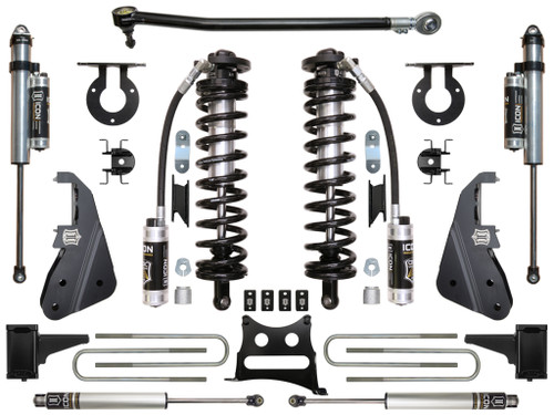 """2017-UP Ford F250/F350 4WD 4-5.5"""" Coilover Conversion System - Stage 4"""