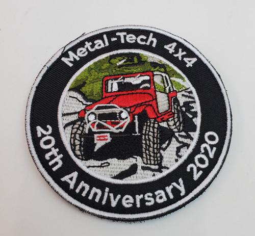 Metal Tech 4x4 20th Anniversary Patch
