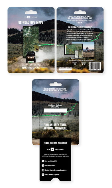onX Offroad App: Digital Map Membership for All 50 States