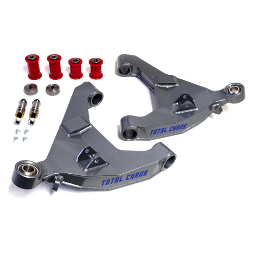 Total Chaos  GX470 STOCK LENGTH 4130 EXPEDITION SERIES LOWER CONTROL ARMS - NO SECONDARY SHOCK MOUNTS