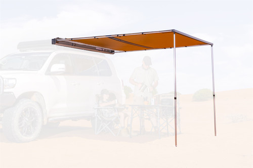 ARB Aluminum Awning With LED Light Strip Package 8.2 FT X 8.2 FT