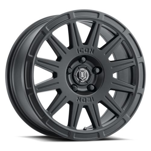 "ICON 15"" Alloys Ricochet Satin Black - New!  Designed for crossover vehicles"