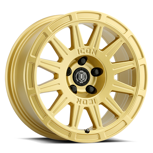 """ICON 15"""" Alloys Ricochet - Gold. New!  Designed for crossover vehicles"""