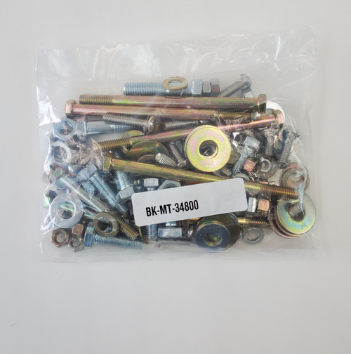 Replacement Bolt Kit for Metaltech Red Eye II/Pegasus Rear Bumpers