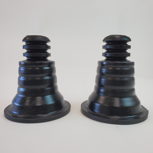 Key Cone Rear Spring Upper Isolators (Metal-tech 4x4 exclusive) sold in pairs