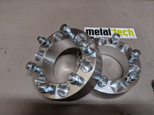 6 x 5.5 2 inch Wheel Spacers