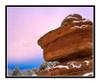 Balanced Rock with Snow in Garden of the Gods in Colorado Springs, Colorado 2379