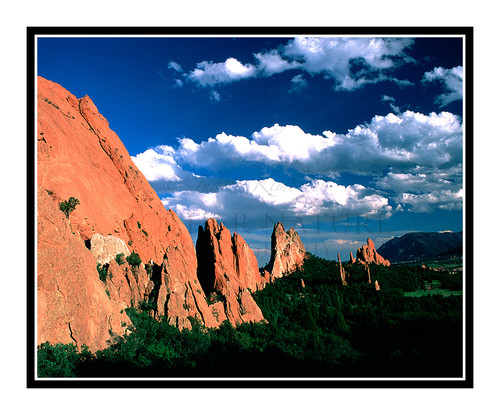 Garden of the Gods South Side in Colorado Springs, Colorado 131