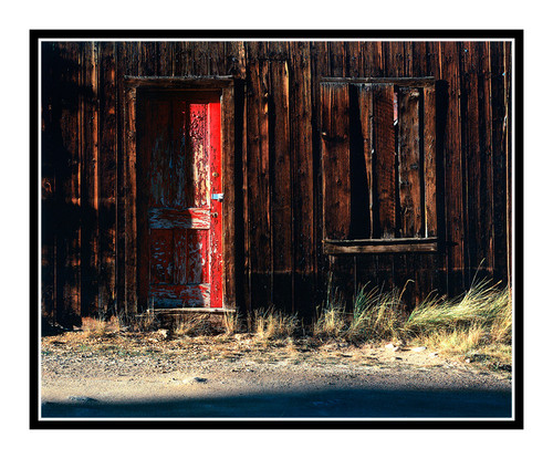 Red Door in St. Elmo Ghost Town, Colorado 17