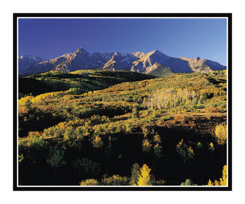 San Juan Mountains in Autumn at Sunrise at the Dallas Divide, Colorado 77