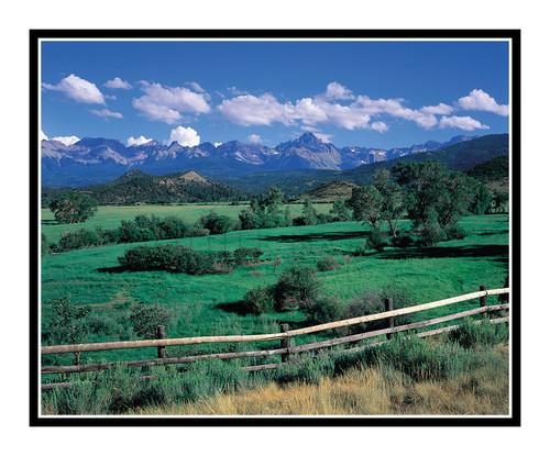 San Juan Mountains in Summer at the Dallas Divide, Colorado 75