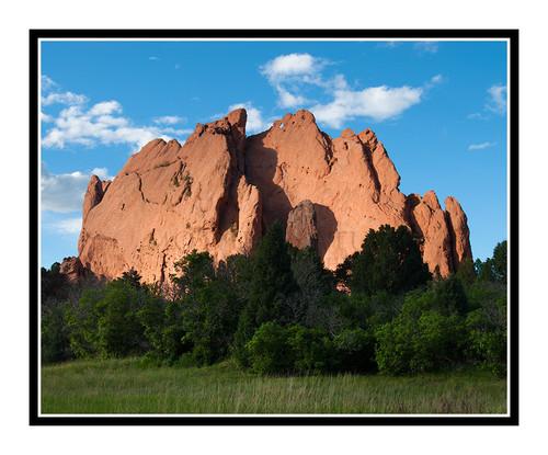 North Gateway Rock in Garden of the Gods inColorado Springs, Colorado 2168