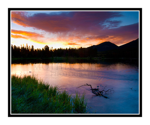 Sprague Lake Sunrise in Rocky Mountain National Park, Colorado 1561