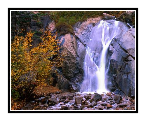 Helen Hunt Falls in Autumn in Colorado Springs, Colorado 789