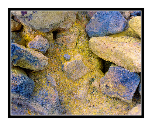 Volcanic Rock Texture in Volcano National Park, Big Island, Hawaii 472