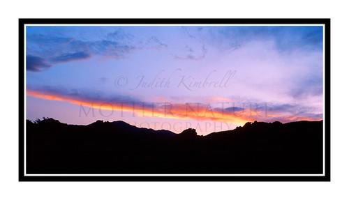 Sunset over Garden of the Gods in Colorado Springs, Colorado 241