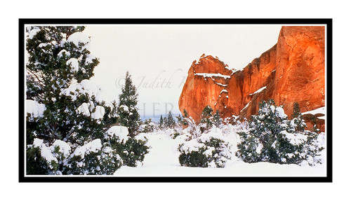 Garden of the Gods Winter in Colorado Springs, Colorado 257