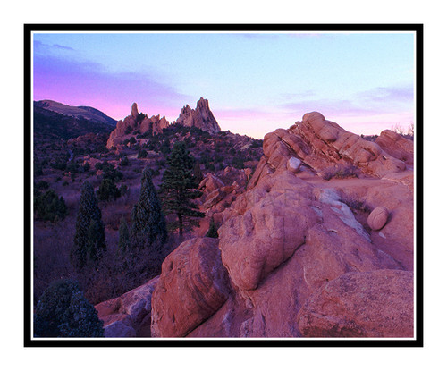 South Face of Garden of the Gods in Colorado Springs, Colorado 133